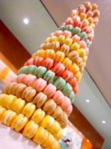macaron-tower-colourful