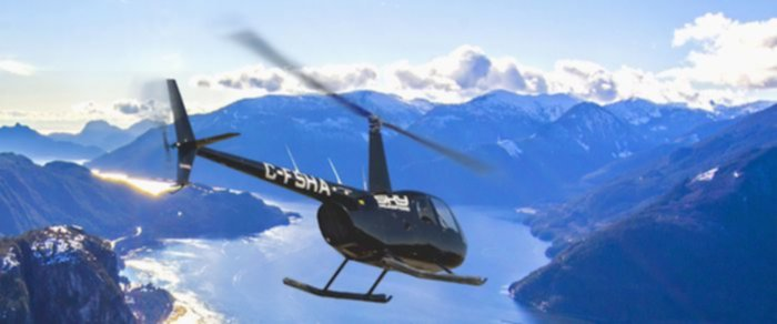 scenic rush sky helicopter tour