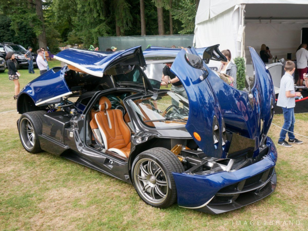 Pagani Raduno at the Luxury Supercar weekend Vancouver 2015