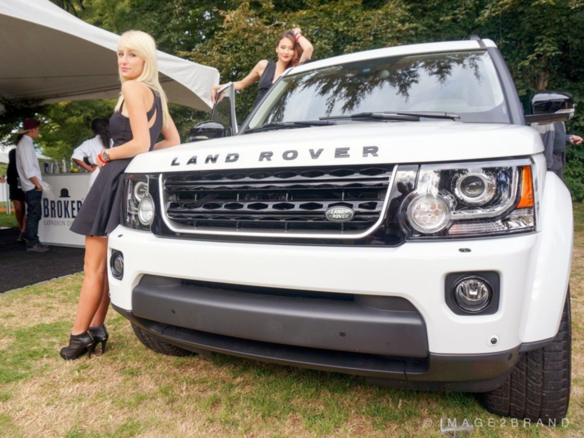 Vancouver Land Rover at the Luxury Supercar Weekend 2015
