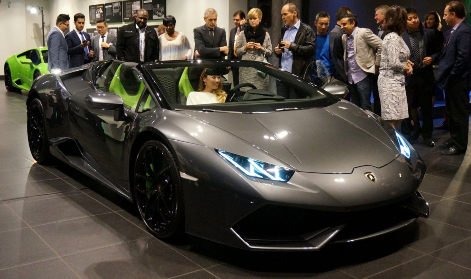 Huracan Spyder Party at Lamborghini Vancouver Party