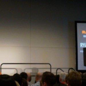 hootsuite founder Ryan Holmes at Mantalks Vancouver