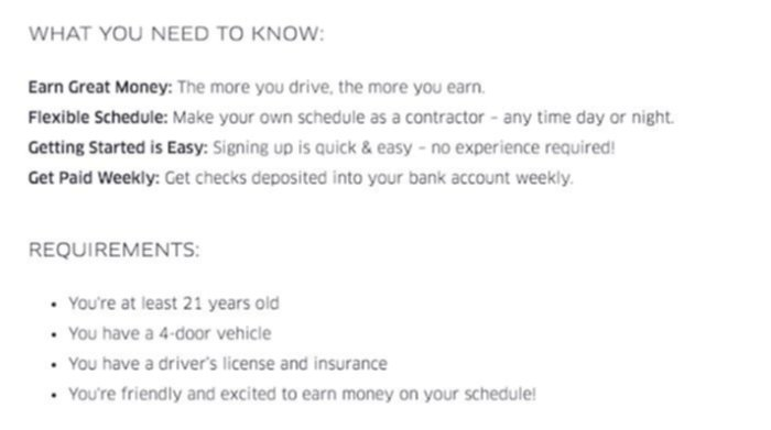uber vancouver hiring job requirements
