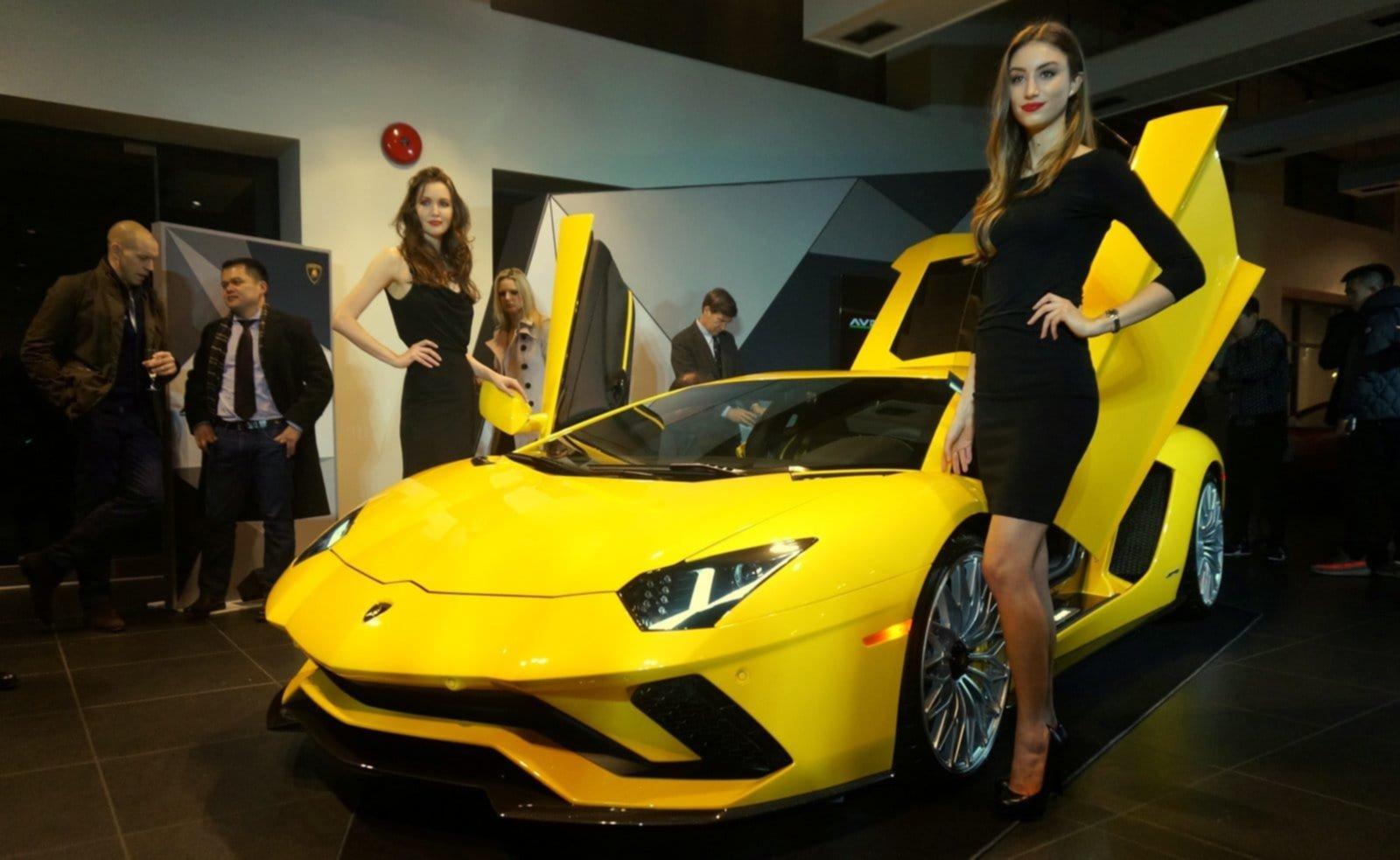The New Aventador S Coupe At Lamborghini Vancouver
